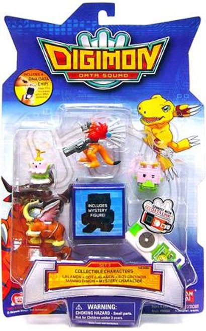 Digimon Data Squad Set 3 PVC Figures