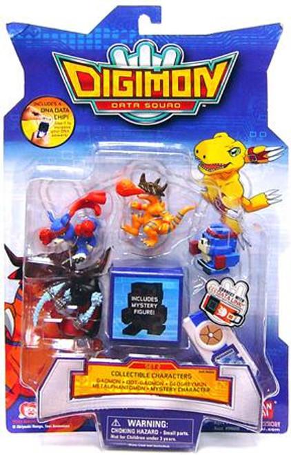 Digimon Data Squad Set 2 PVC Figures