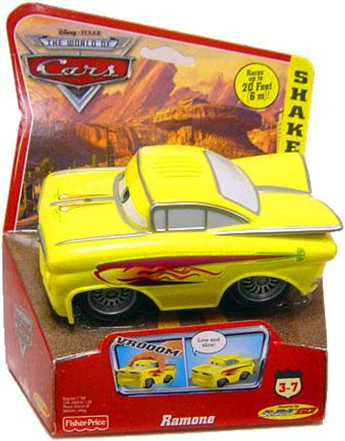 Disney Cars The World of Cars Shake 'N Go Ramone Shake 'N Go Car [Yellow]