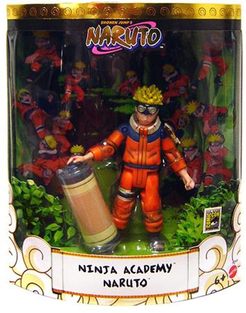 Naruto Uzumaki Exclusive Action Figure [Ninja Academy, Battle Damaged]