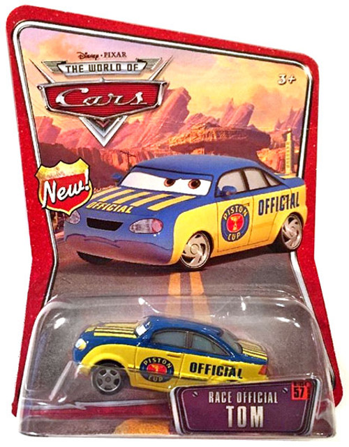 Disney Cars The World of Cars Series 1 Race Official Tom Diecast Car