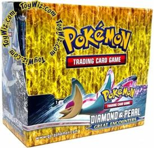 Pokemon Diamond & Pearl Great Encounters Booster Box [36 Packs] [Sealed]