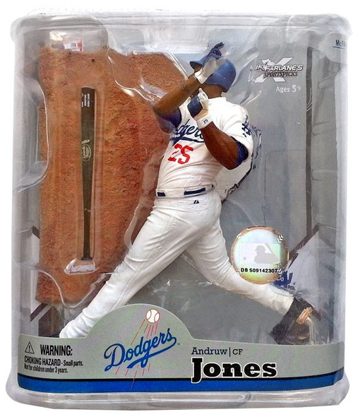 McFarlane Toys MLB Los Angeles Dodgers Sports Picks Series 22 Andruw Jones Action Figure