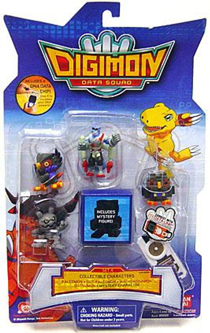 Digimon Data Squad Set 4 PVC Figures