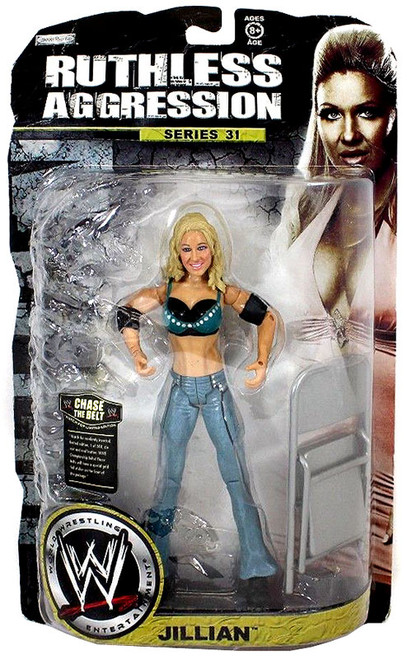 WWE Wrestling Ruthless Aggression Series 31 Jillian Hall Action Figure