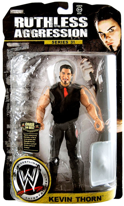 WWE Wrestling Ruthless Aggression Series 31 Kevin Thorn Action Figure