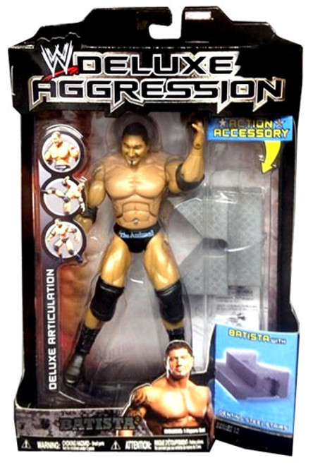 WWE Wrestling Deluxe Aggression Series 12 Batista Action Figure