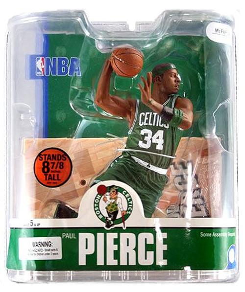 McFarlane Toys NBA Boston Celtics Sports Picks Series 13 Paul Pierce Action Figure [Green Jersey Variant]