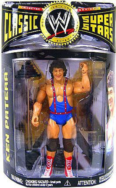 WWE Wrestling Classic Superstars Series 17 Ken Patera Action Figure