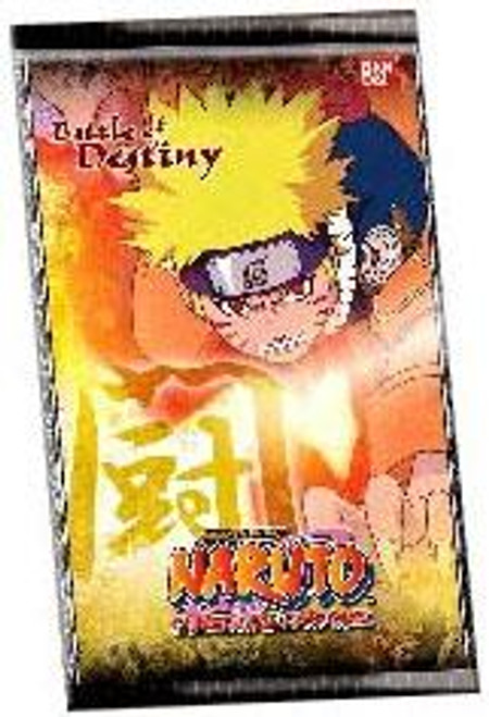 Naruto Card Game Battle of Destiny Booster Pack