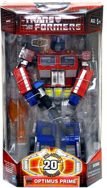 Transformers 20th Anniversary Classics Battle-Damaged Optimus Prime Action Figure