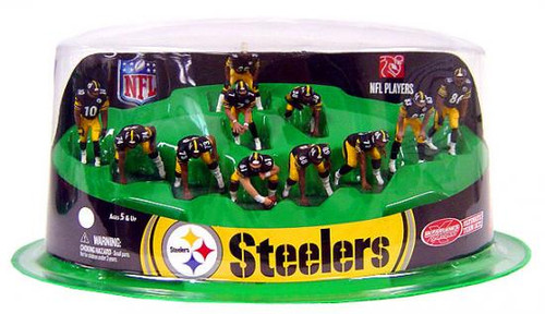 McFarlane Toys NFL Sports Picks Ultimate Team Sets Pittsburgh Steelers Offense 2-Inch Team Set