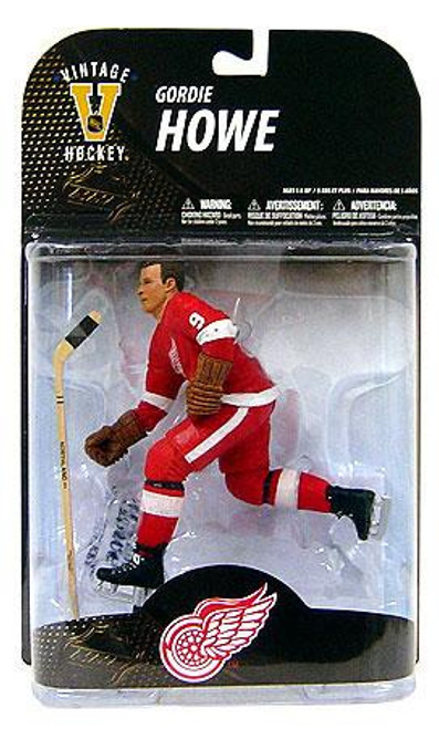 McFarlane Toys NHL Detroit Red Wings Sports Picks Legends Series 7 Gordie Howe Action Figure