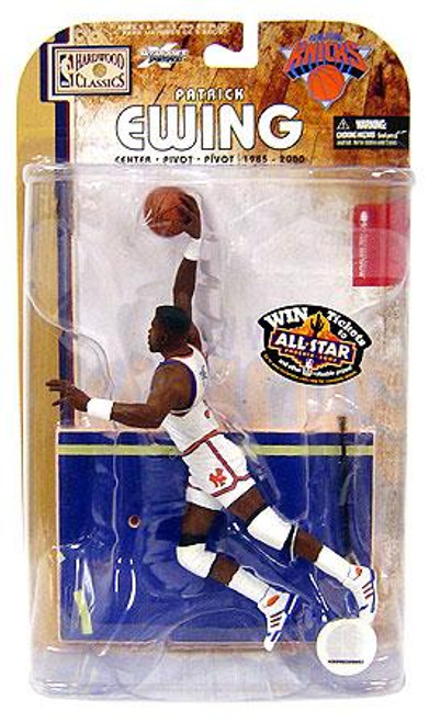 McFarlane Toys NBA New York Knicks Sports Picks Legends Series 4 Patrick Ewing Action Figure [White Jersey]
