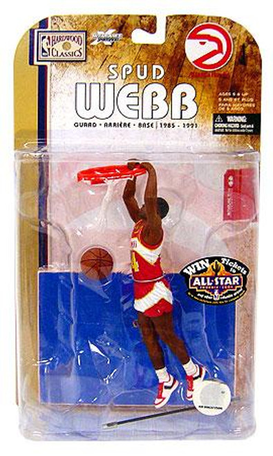 McFarlane Toys NBA Atlanta Hawks Sports Picks Legends Series 4 Spud Webb Action Figure
