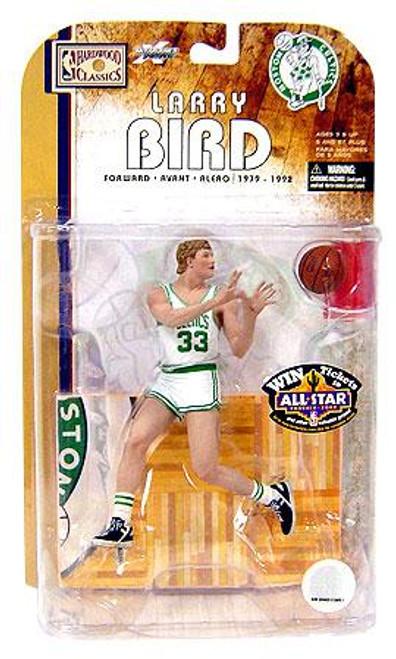 McFarlane Toys NBA Boston Celtics Sports Picks Legends Series 4 Larry Bird Action Figure