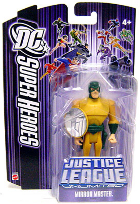 DC Justice League Unlimited Super Heroes Mirror Master Action Figure [Purple Card]