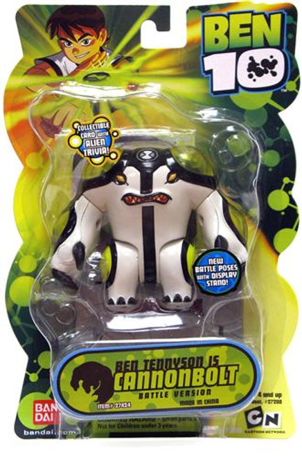 Ben 10 Alien Collection Series 2 Cannonbolt Action Figure [Battle Version]