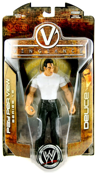 WWE Wrestling Pay Per View Series 16 Vengeance Deuce Action Figure