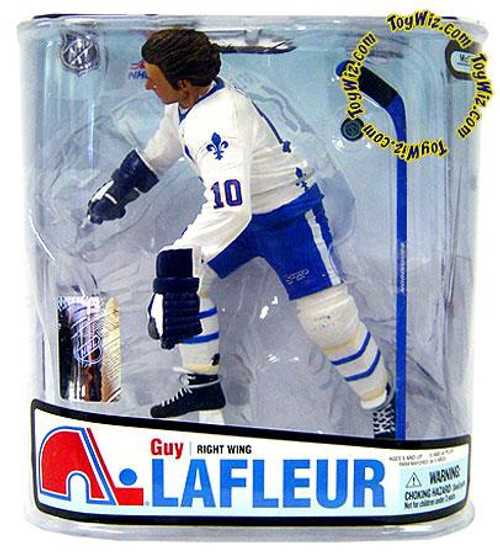 McFarlane Toys NHL Quebec Nordiques Sports Picks Series 18 Guy LaFleur Action Figure