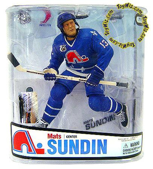 McFarlane Toys NHL Quebec Nordiques Sports Picks Series 18 Mats Sundin Action Figure