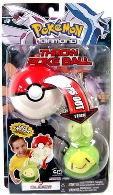 Pokemon Diamond & Pearl DP Series 3 Budew Throw Poke Ball Plush