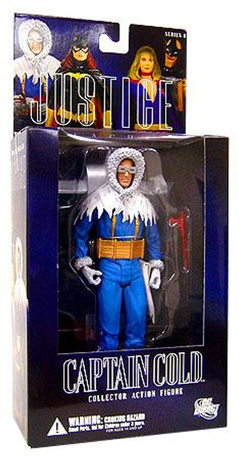 DC Alex Ross Justice League Series 8 Captain Cold Action Figure