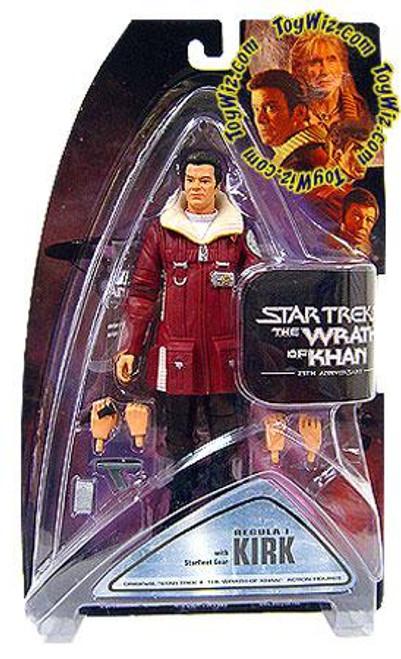 Star Trek The Wrath of Khan Series 1 Kirk Action Figure [Regula-1]