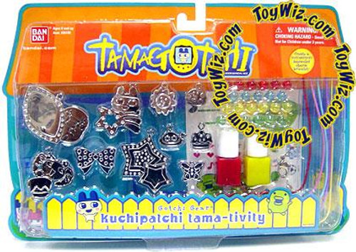 Tamagotchi Gotchi Gear Charm Bracelet Kuchipatchi Tama-Tivity Activity Set [Red & Yellow Paint]