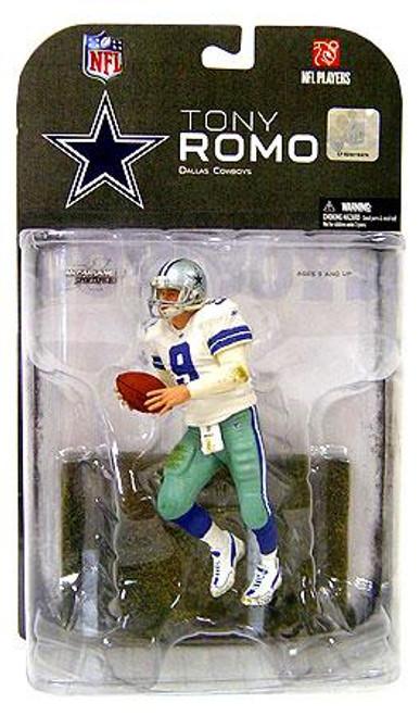 McFarlane Toys NFL Dallas Cowboys Sports Picks Series 17 Tony Romo Action Figure [Dirty Uniform]