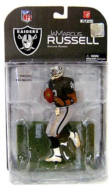 McFarlane Toys NFL Oakland Raiders Sports Picks Series 17 JaMarcus Russell Action Figure [Dirty Uniform]