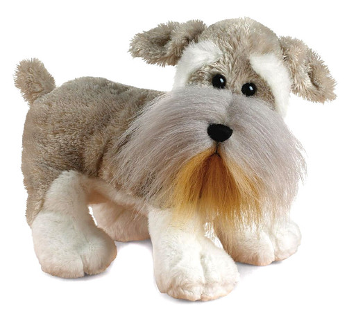 Webkinz Schnauzer Dog Plush