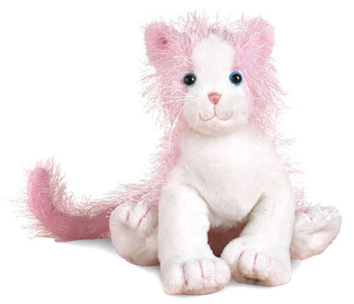 Webkinz Pink & White Cat Plush