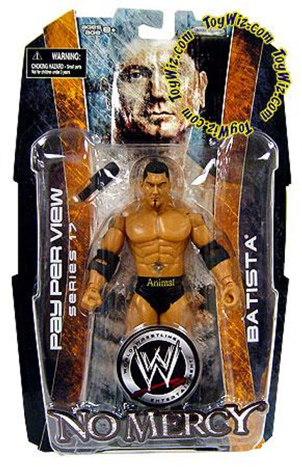 WWE Wrestling Pay Per View Series 17 No Mercy Batista Action Figure