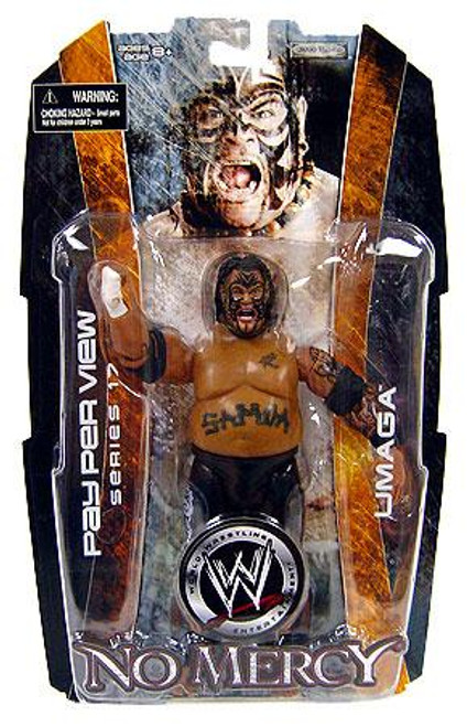 WWE Wrestling Pay Per View Series 17 No Mercy Umaga Action Figure