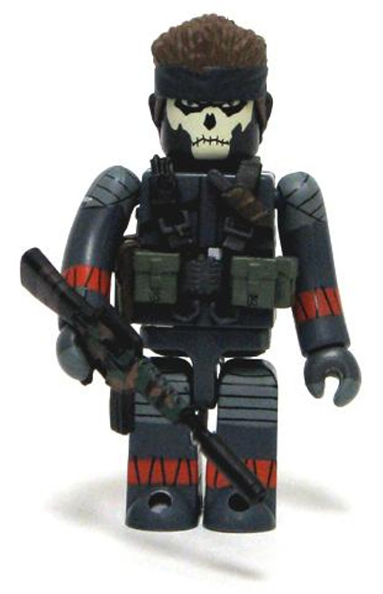 Metal Gear Solid 20th Anniversary Kubrick Naked Snake Minifigure [Snake Eater]
