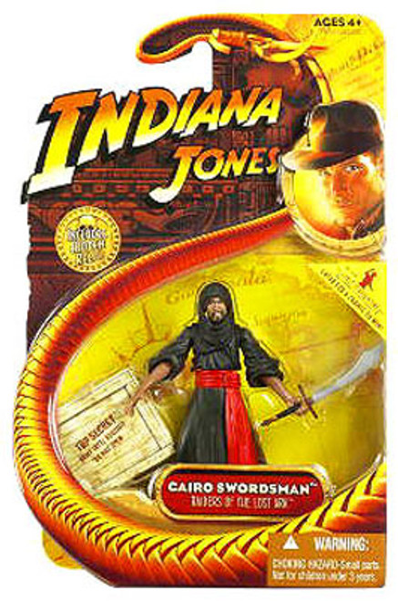Indiana Jones Raiders of the Lost Ark Series 1 Cairo Swordsman Action Figure
