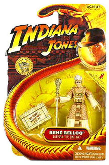 Indiana Jones Raiders of the Lost Ark Series 1 Rene Belloq Action Figure