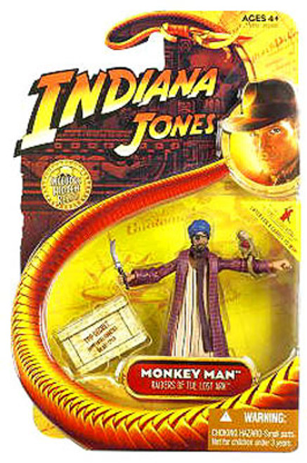 Indiana Jones Raiders of the Lost Ark Series 1 Monkey Man Action Figure