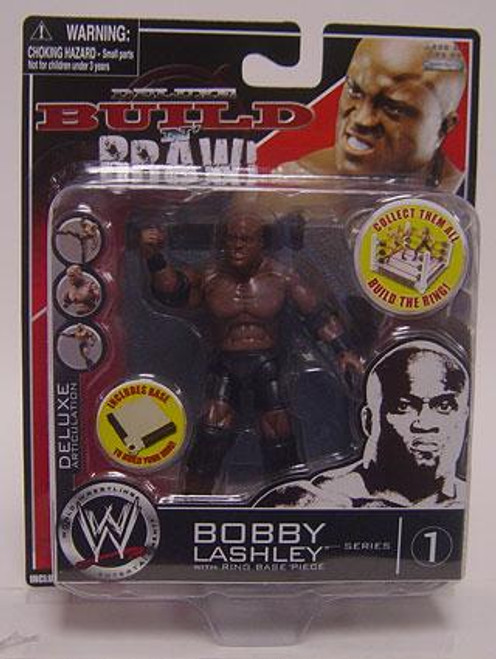 WWE Wrestling Build N' Brawl Series 1 Bobby Lashley Action Figure