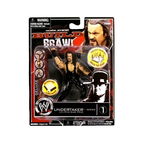 WWE Wrestling Build N' Brawl Series 1 Undertaker Action Figure