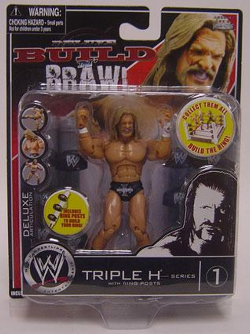 WWE Wrestling Build N' Brawl Series 1 Triple H Action Figure