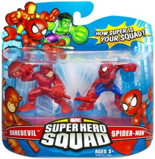 Marvel Super Hero Squad Series 7 Daredevil & Spider-Man Action Figure 2-Pack