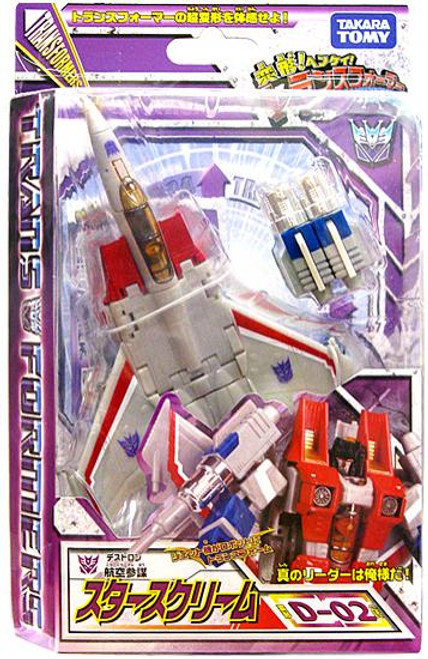 Transformers Japanese Classics Henkei Deluxe Starscream Deluxe Action Figure Set D-02