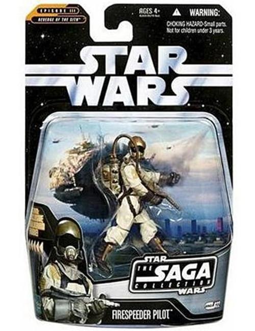Star Wars Revenge of the Sith Saga Collection 2006 Firespeeder Pilot Action Figure #22