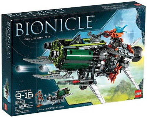 LEGO Bionicle Rockoh T3 Set #8941