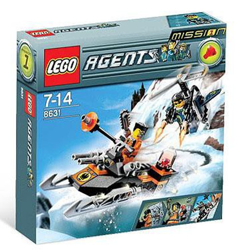 LEGO Agents Mission 1: Jet Pack Pursuit Set #8631