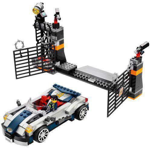 lego agents mission 5 turbo car chase set 8634 toywiz. Black Bedroom Furniture Sets. Home Design Ideas