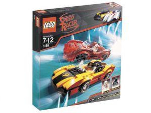 LEGO Speed Racer Racer X & Taejo Togokhan Set #8159