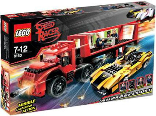 LEGO Speed Racer Cruncher Block & Racer X Set #8160